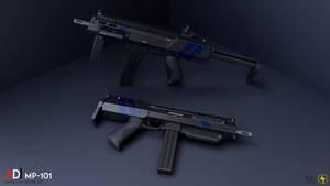 MP-101 Sub Machine Gun by Zeus1257