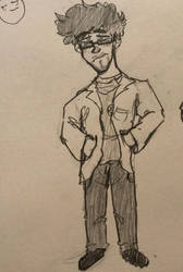 Ew a shitty henrik doodle by DoodlyDoodlerDoo