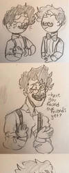 Oof I tried to make a comic  by DoodlyDoodlerDoo