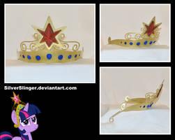 Element of Magic Tiara (AKA: Big Crown Thingie) by SilverSlinger