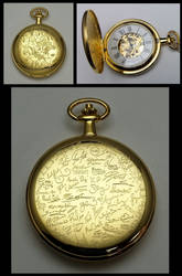 Brony Fandom Tribute Pocket Watch by SilverSlinger