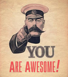 You Are Awesome by martinemes