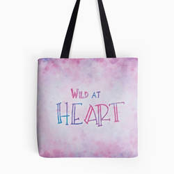Wild at Heart Tote Bag by martinemes