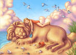 The Sand Lion by Red-Clover