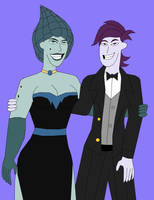 Tronnie And Mego Formal by Jimma1300