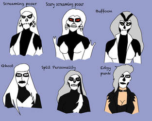 The Portrayals Of Silver Banshee by Jimma1300