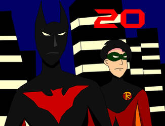 Batman Beyond - 20 Years by Jimma1300