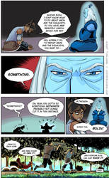 Korra and Roku by TracyWilliams
