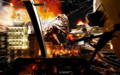 Dinosaur In Baku by SP-A-WN