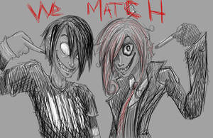 LOOK WE MATCH by SicklySweetened