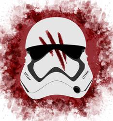 Bloody-helmet by Mortellombre