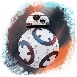 BB-8 by Mortellombre