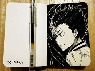 Fanart: Nishinoya Yuu by torakun14