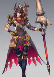 Commission: Dragoon Neko by torakun14