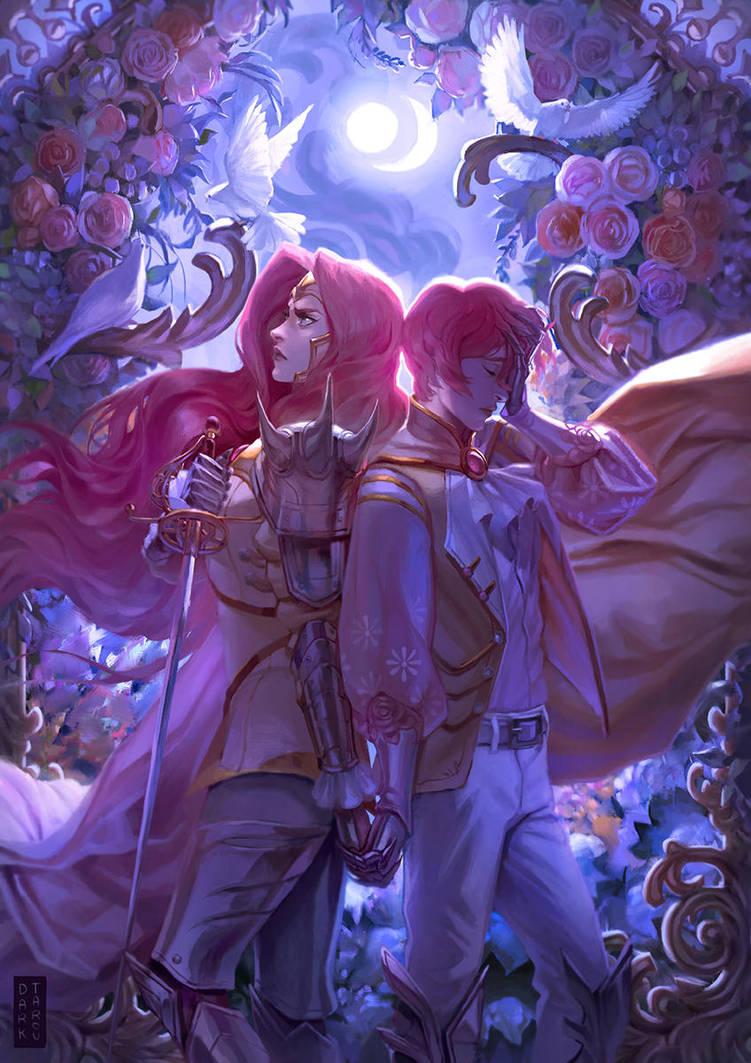 Commission: Patelier twins by dark-tarou