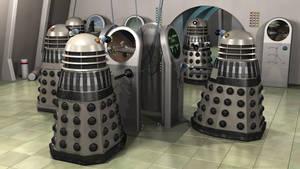Dalek Operations Room by Jim197