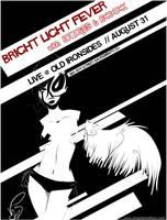 bright light fever flyer by vics
