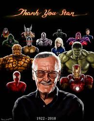 Thank you Stan by Anthonyjensen