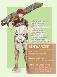 Xenoblade Cross: Schwarzer by ShiroHuntress