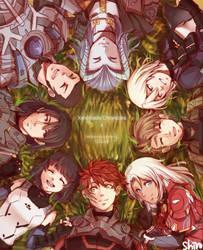 Xenoblade X 1st Anniversary (+SPEEDPAINT) by ShiroHuntress