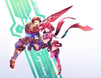 Xenoblade Chronicles 2 by ShiroHuntress