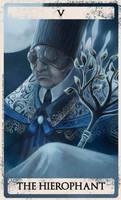 Bloodborne tarot V by Wingless-sselgniW