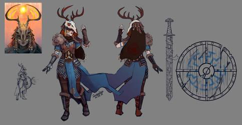 Woad Sentinel Leona by Wingless-sselgniW