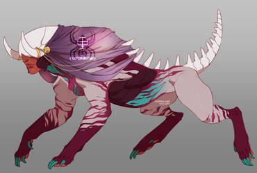 Zodiac Sphinx Adopt: Cancer (CLOSED) by KurokiKumo