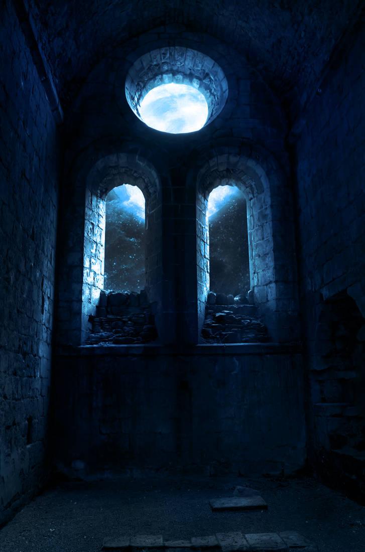 Drak Blue Night by SV-Blackart