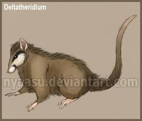 Deltatheridium by Nyaasu