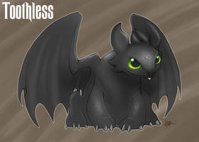 Toothless by Nyaasu