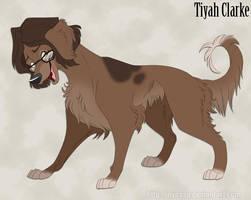 Tiyah Clarke - Cute Sensitive Doggo by Nyaasu