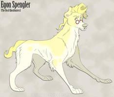 RGB Egon Spengler - Aloof Genius Doggo by Nyaasu