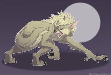 WereSpengs Chasing his Tail! by Nyaasu