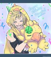 Happy Birthday Prompto! by Nyaasu