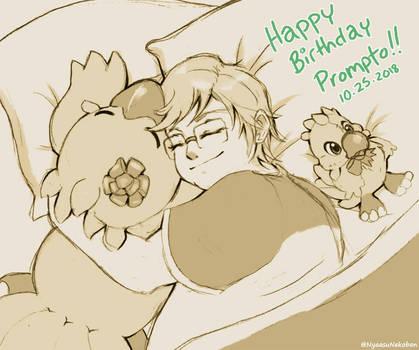 Happy Birthday *Little* Prompto! by Nyaasu