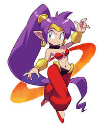 New Shantae by nmrbk