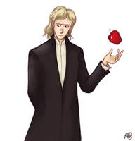 Sir Isaac Newton by GaryLight