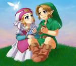 Hero and Princess by Selene-Galadriel