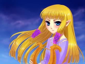 Zelda by Selene-Galadriel