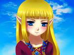 Sweet Zelda by Selene-Galadriel