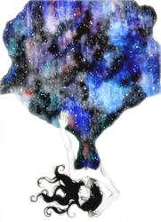 Good Night Miss Universe by LenaHat2ArmeUndBeine