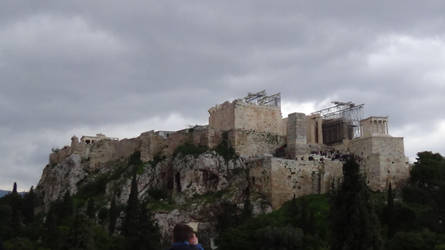 The Acropolis by Dickywebster