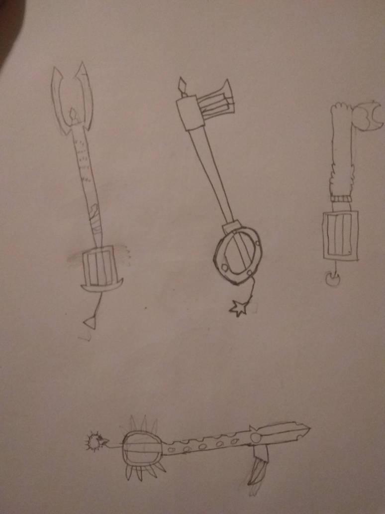 Original Keyblades. by mr-green193