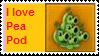 I love pea pod stamp by Lilacool