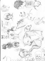 Doodles by Okamiigirl