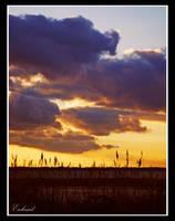 Big Purple Clouds by Enkphoto