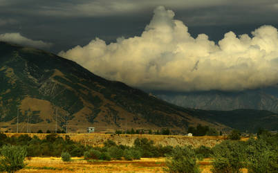 Wasatch in Late Summer by Enkphoto