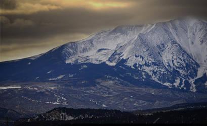 Mount Sopris by Enkphoto