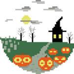Halloween Pixel Art by lauri142